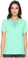 Nike Zonal Cooling Relay Short Sleeve Running Top
