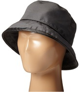 Scala Rain Bucket Hat with Piping Trim Bucket Caps
