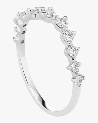 Sophie Ratner Half Band Diamond Swell Ring