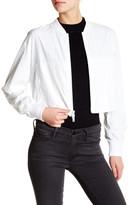DKNY Zip Cropped Jacket