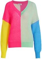 Essentiel Antwerp Vivar Colorblock Wool & Mohair-Blend Sweater