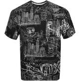 Armani Exchange Crew Neck Logo T Shirt Black