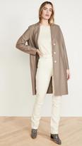Harris Wharf London Overcoat Light Pressed Wool Jacket