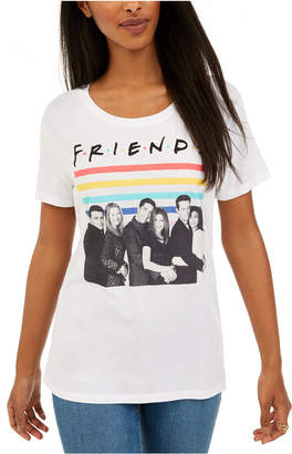 Love Tribe Juniors Friends Rainbow Graphic T-Shirt