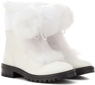 Jimmy Choo Glacie Flat ankle boots
