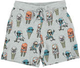 Stella McCartney Josh Ice Cream Organic Cotton Sweat Shorts