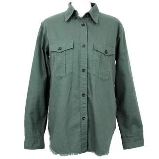 Isabel Marant Green Cotton Top for Women
