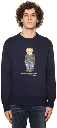 Polo Ralph Lauren Magic Teddy Print Cotton Sweatshirt