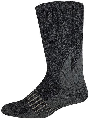 Dickies Men's 2-Pack Heavyweight Wool-Blend Thermal Crew Socks
