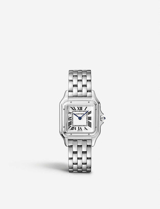 Cartier Panthere de medium stainless steel watch