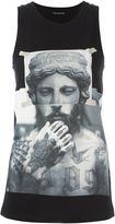 Neil Barrett photo print tank top