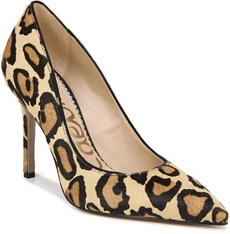 Sam Edelman Hazel Genuine Calf Hair Pointed Toe Pump