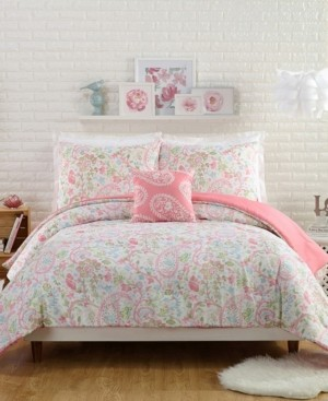 Jessica Simpson Avery 4 Piece King Comforter Set