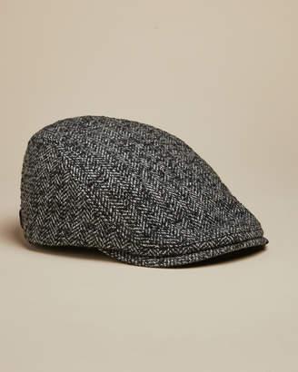Ted Baker NEVILLE Herringbone flat cap