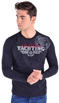 Galvanni Men's Elsworth Long-Sleeve T-Shirt - -