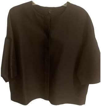 Cos Black Cotton Jacket for Women