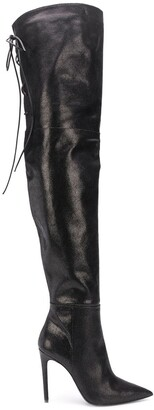 Just Cavalli Over The Knee Boots