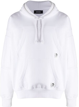 Diesel Reconstructed Long-Sleeved Hoodie