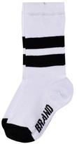 The BRAND White Knee Socks