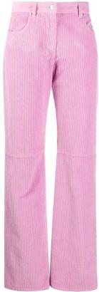 MSGM Mid-Rise Straight-Leg Jeans