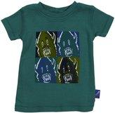 Charlie Rocket Monster T-Shirt (Baby) - Green-3-6 Months