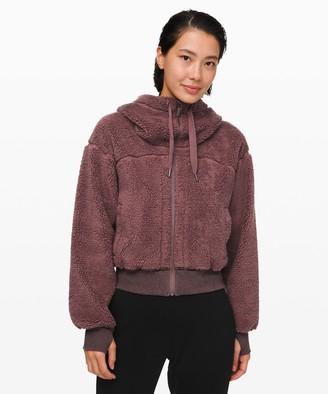 Lululemon Short Sweet and Sherpa Jacket