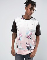 Jaded London T-Shirt In Floral Print