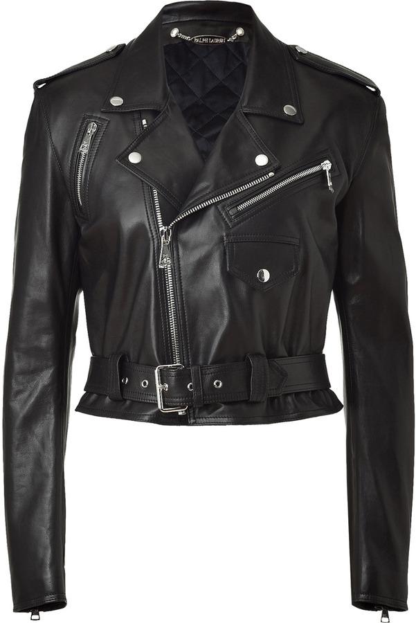 Ralph Lauren Black Leather Jacket