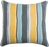 Ikat Stripe Decorative Pillow