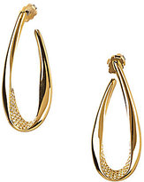 Nadri Domani Twist Hoop Earrings