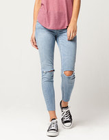Almost Famous Premium Fray Ankle Womens Skinny Jeans