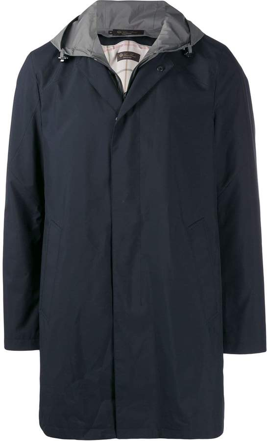 Loro Piana hooded rain jacket