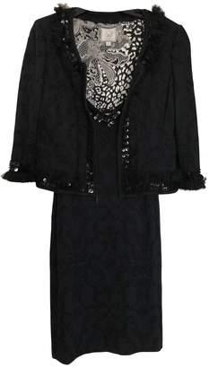St. John Black Wool Dress for Women