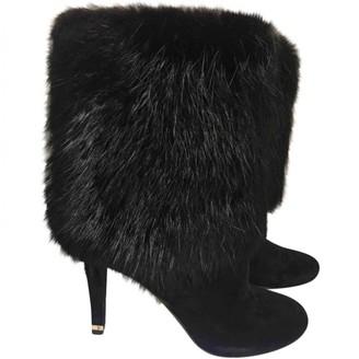 Louis Vuitton \N Black Fox Boots