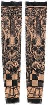 DSQUARED2 tattoo sleeves - men - Polyamide/Spandex/Elastane - One Size