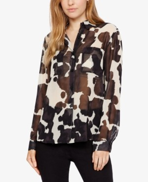 Sanctuary Monday to Sunday Sheer Printed Top