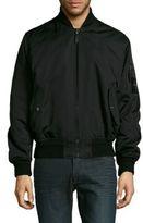 Versace Solid Bomber Jacket