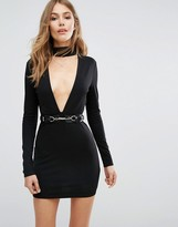 Majorelle Night Hawk Dress in Black