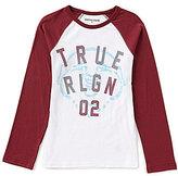 True Religion Big Boys 8-20 Buddha Long-Sleeve Tee