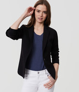 LOFT Tall Single Button Blazer