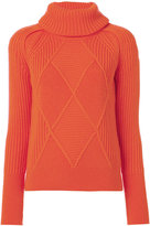 Kenzo engineered jumper - women - Wool - S