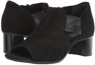 Munro American Sable (Black Suede) Women's Shoes