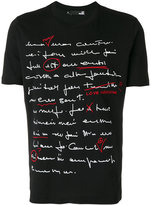 Love Moschino handwriting print T-shirt