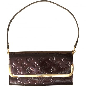 Louis Vuitton Rossmore Burgundy Patent leather Clutch bags