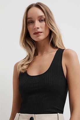 Witchery Scoop Ribbed Tank