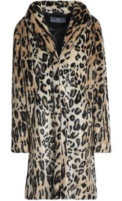 Tart Collections Leopard-print Faux Fur Coat
