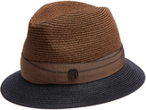 Maison Michel Ygor hemp-straw trilby hat