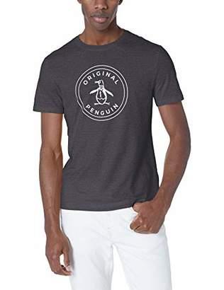 Original Penguin Men's Short Sleeve Circle Logo Tee