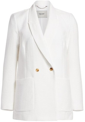 Rachel Comey Amboy Foam Double-Breasted Blazer
