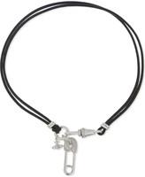 Vivienne Westwood Clovis safety pin wrap bracelet